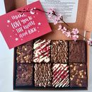 Mothers Day Gourmet Brownie Gift Box