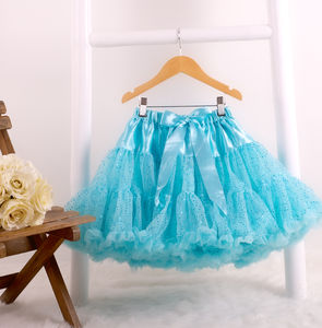 Aqua Shimmer Pettiskirt Tutu - children's skirts