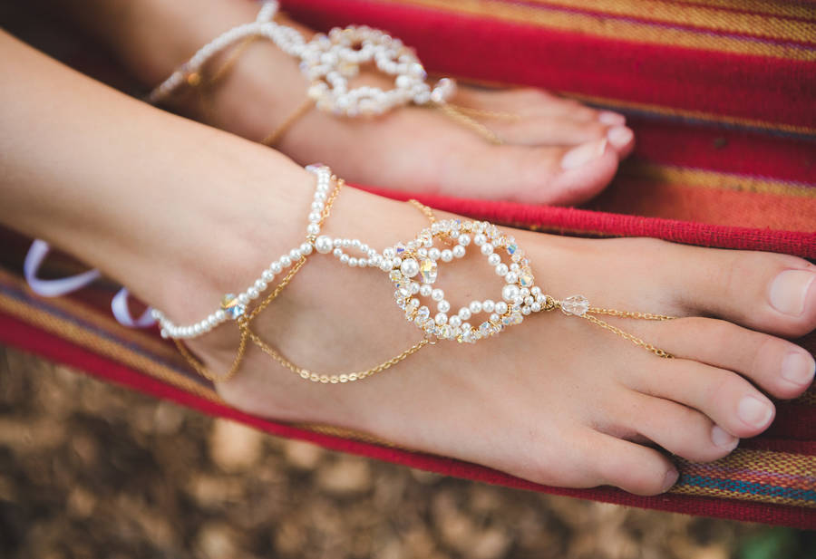 0e4160ded25 priya bridal barefoot sandals by ps with love
