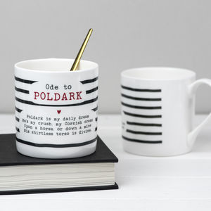 Poldark Poem Bone China Mug