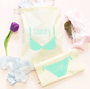 Travel Laundry Bag Set