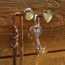 Chrome Nail Hanger Trio Set Of Three