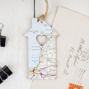 Personalised Map House - decorative accessories