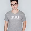 Personalised Father T Shirt