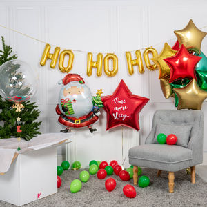 Inflated Christmas Santa Party Package