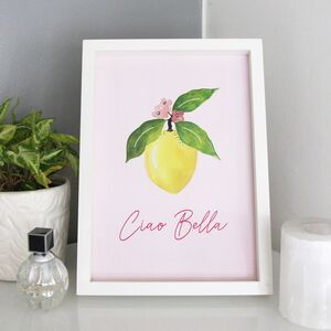 'Ciao Bella' Fruity A4 Print