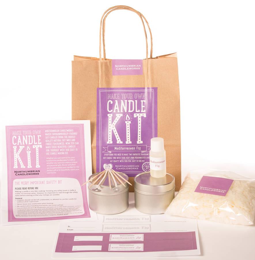 'Mediterranean Fig' Candle Making Kit