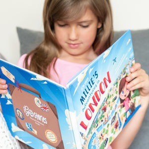 Personalised Adventure In London Story Book - educational toys