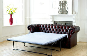 Classic Chesterfield Sofa Bed