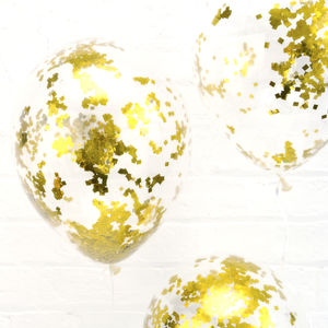 Confetti Balloon Kit - outdoor decorations
