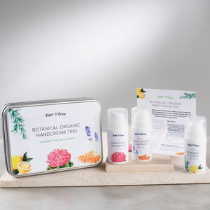 Botanical Organic Handcream Trio