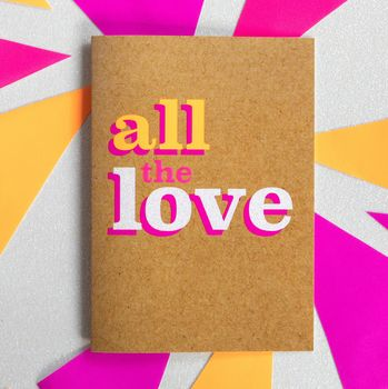 Thinking Of You Card | All The Love