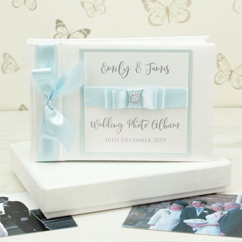 Personalised Dior Wedding Photo Album