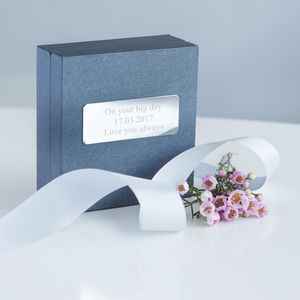 Personalised Jewellery Gift Box