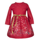 Margaret Red Christmas Dress