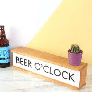 Personalised Wooden Lightbox - decorative accessories