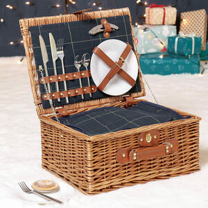 Personalised Luxury Two Person Wedding Picnic Hamper