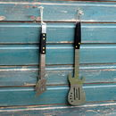 Bbq/Braai Spatula And Tongs