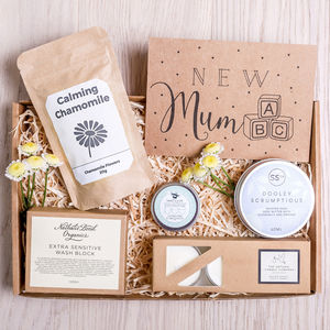 'New Mum' Letterbox Gift Set - what's new
