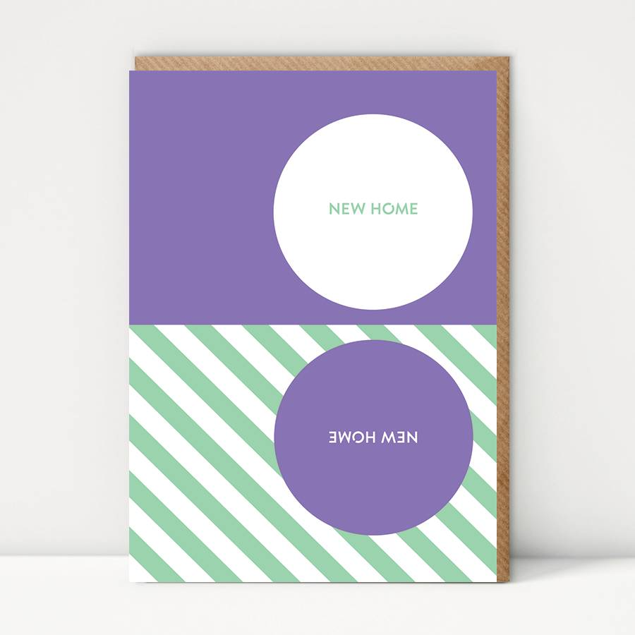Pattern New Home Card