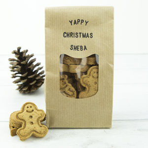 Personalised Christmas Dog Treats - food, feeding & treats