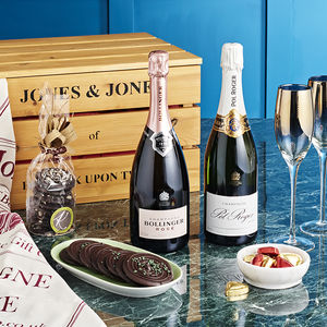 Luxury Champagne And Chocolates Hamper - hampers