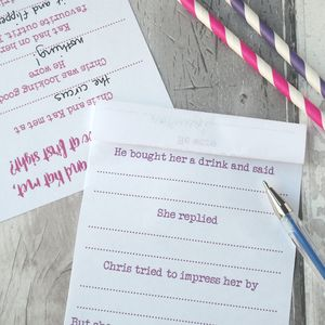 'Love At First Sight' Hen Party Game - hen party ideas