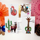 'Festive Fiesta' Christmas Card Pack