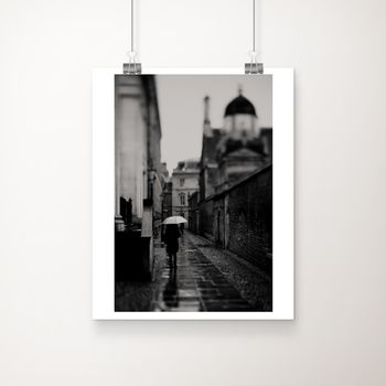 A White Umbrella Fine Art Photographic Print