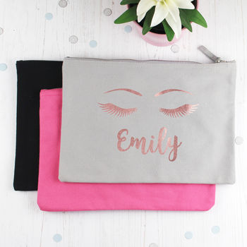 Personalised Beauty Make Up Bag