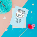 Wendy The Wellness Whale Get Well Soon Card