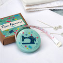 Tape Measure, Vintage Sewing Machine Or Fox Design