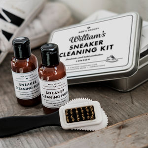 Personalised Sneaker Cleaning Kit - gifts for him