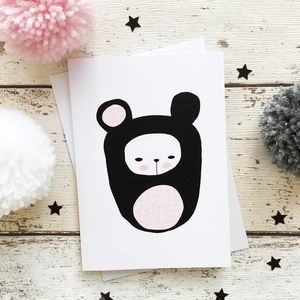 Brunta Bear Greeting Card