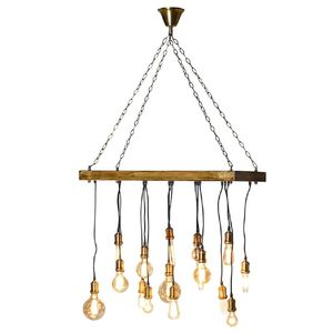 Filament Bulb Chandelier Ceiling Light Chanedlier - ceiling lights