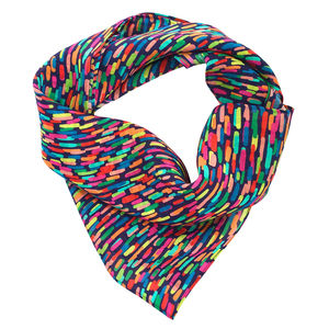 Tuti Fuitti Strokes Printed Silk Scarf - women's accessories