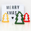 Red Silicone Christmas Tree Teether