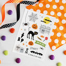 Spooky Halloween Temporary Tattoos