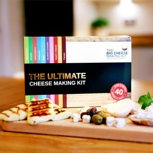 The Ultimate Cheese Making Kit - foodies