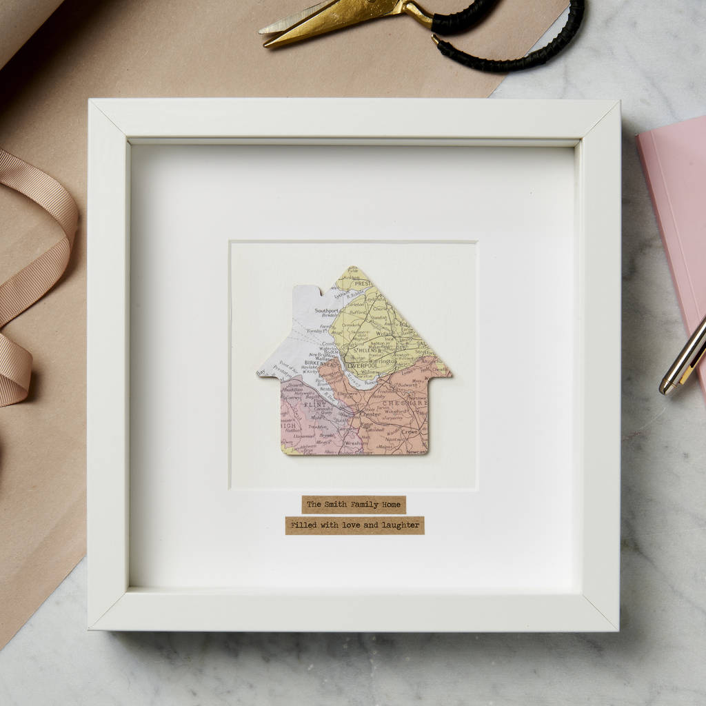Personalised 'My Home' Map Picture