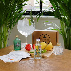 Three Random Gins Tasting Gift Set