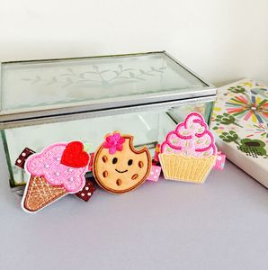 Tea Time Treat Hair Clips - hair accessories