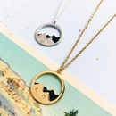 Personalised Mountain Necklace