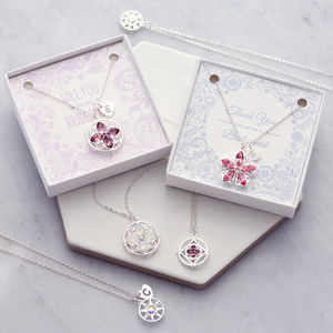 Bridesmaid 'Will You' Or 'Thank You' Gift Card Necklace - necklaces & pendants