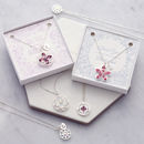 Bridesmaid 'Will You' Or 'Thank You' Gift Card Necklace
