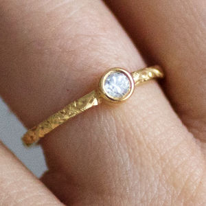 Hera Ethical Fairtrade Diamond Engagement Ring - women's jewellery
