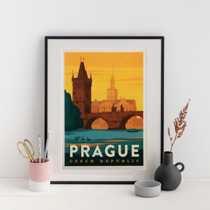Prague Travel Print