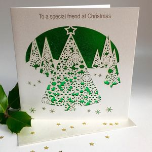 Christmas Card To A Special Friend - cards & wrap