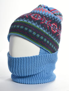 Jig Jag Merino Wool Balaclava Blink - hats, scarves & gloves