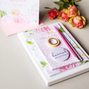 Be My Bridesmaid Floral Stationery Gift Set
